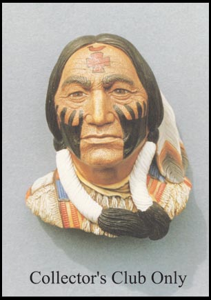 sitting bull with warpaint. Black Bedroom Furniture Sets. Home Design Ideas